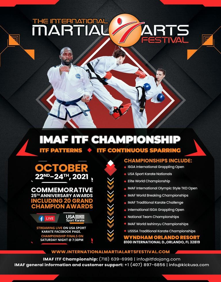 2021 IMAF ITF Taekwon-Do Championship